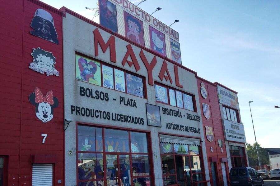 Mayal Productos Oficiales - Polígono Cobo Calleja fe3e195ee90